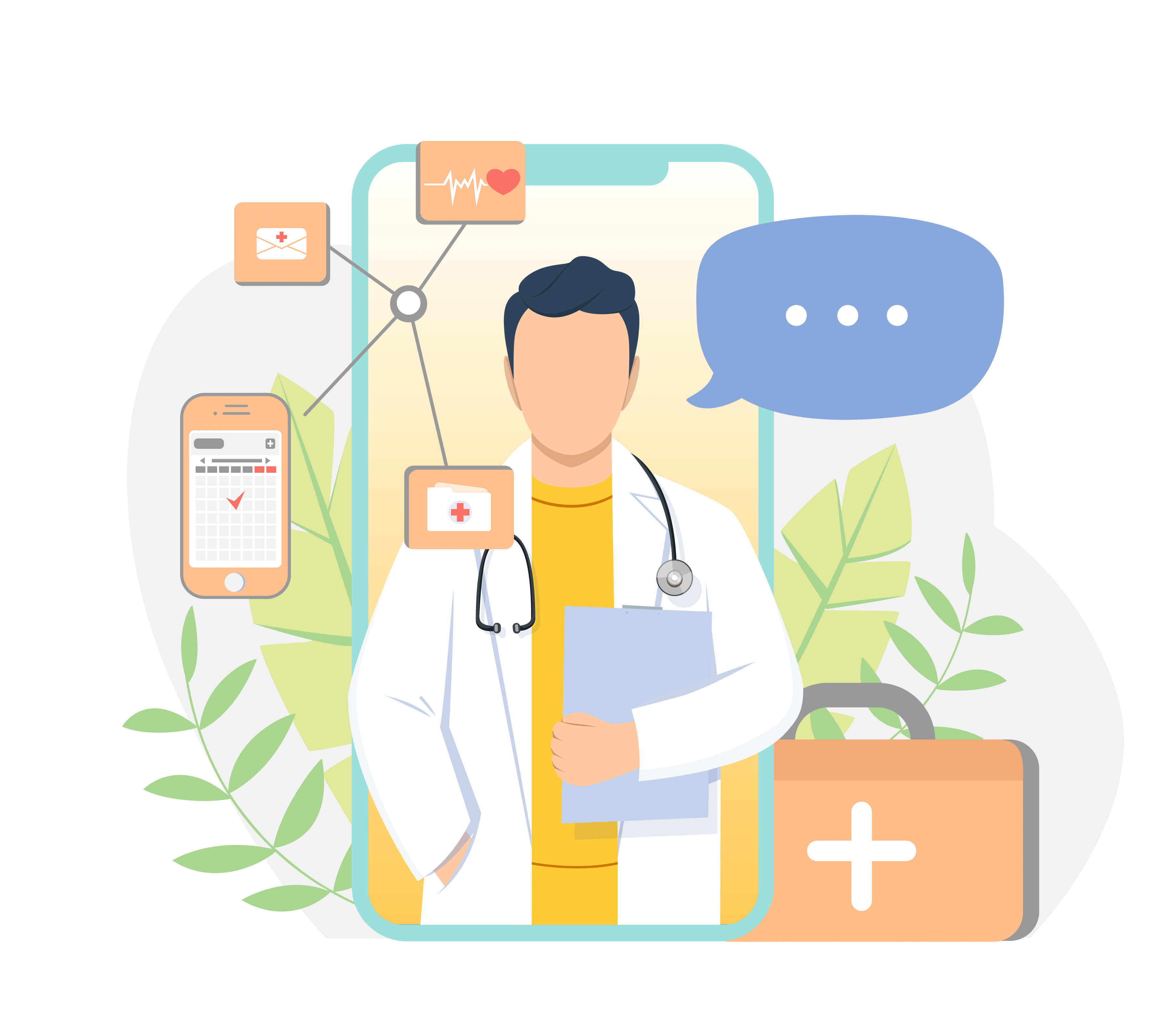 Patient App in your clinics name